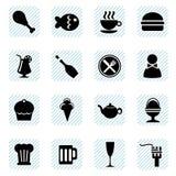 Vecteur de graphismes de nourriture Image stock