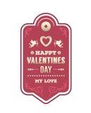 Vecteur de jour de valentines Image libre de droits