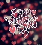 Vecteur de jour de valentines Photos stock