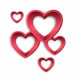 Vecteur de jour de valentines Images stock