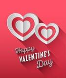 Vecteur de jour de valentines Photo stock