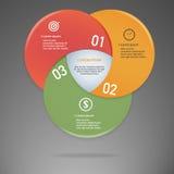 Vecteur de la disposition de graphique de renseignements commerciaux Image libre de droits