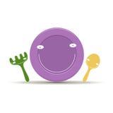 Vecteur de la vaisselle des enfants Image stock