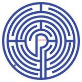 Vecteur de labyrinthe Image libre de droits