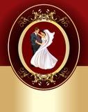vecteur de marié de mariée Images stock