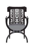 Vecteur de meubles de chaise de vintage Photographie stock