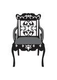 Vecteur de meubles de chaise de vintage Photos stock