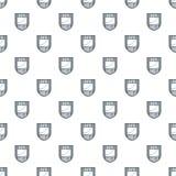 Vecteur de modèle de bouclier de données sans couture Photo libre de droits