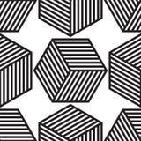 Vecteur de modèle de cube Image libre de droits