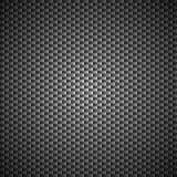 Vecteur de modèle de noir de Kevlar de carbone Images stock