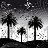 vecteur de palmier d'illustration Image libre de droits