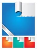 Vecteur de papier déchiré Image stock