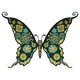 Vecteur de papillon Photographie stock libre de droits