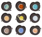 Vecteur de planètes illustration stock