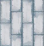 Vecteur de plaque métallique de modèle Photographie stock
