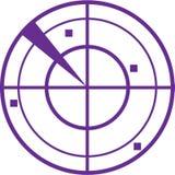 Vecteur de radar Photos libres de droits