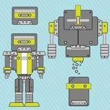 vecteur de robot de musique Image libre de droits