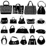 Vecteur de sac de mode Photo libre de droits