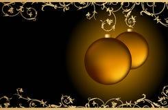 vecteur de salutation de Noël de carte Photo libre de droits