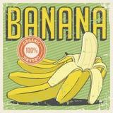 Vecteur de Signage de vintage de banane rétro Photo libre de droits