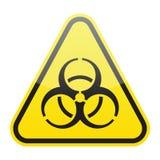Vecteur de signe de Biohazard Image stock