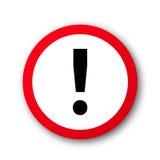 Vecteur de signe de danger Image libre de droits