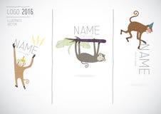 Vecteur de singe Illustration de Vecteur