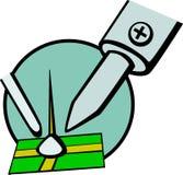 vecteur de soudure d'illustration de l'électronique illustration libre de droits