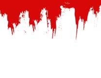 Vecteur de splat de sang Image libre de droits