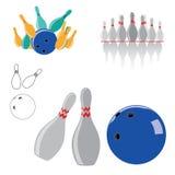 Vecteur de sport de bowling illustration stock