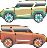 Vecteur de SUV énervé illustration de vecteur