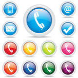 Vecteur de symbole réglé de paquet d'affaires d'icône Photographie stock libre de droits
