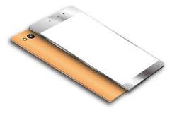 Vecteur de téléphone portable d'Android Image stock