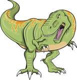 Vecteur de T-Rex de dinosaur de Tyrannosaurus Photos libres de droits