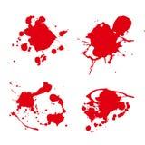 Vecteur de tache de peinture d'éclaboussure Image libre de droits
