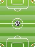Vecteur de terrain de football Photographie stock libre de droits