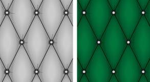 Vecteur de texture de capitonnage Images stock
