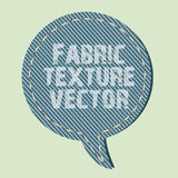 Vecteur de texture de tissu Photo libre de droits