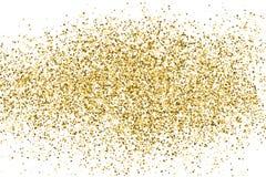Vecteur de texture de scintillement d'or Photographie stock libre de droits