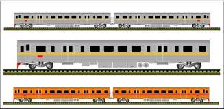 Vecteur de train illustration stock