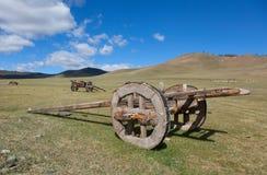 vecteur de trame d'illustration de cheval de chariot Images libres de droits