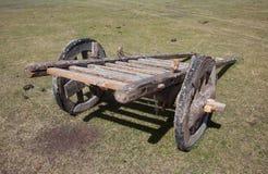 vecteur de trame d'illustration de cheval de chariot Photos stock