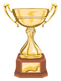 Vecteur de trophée Photo stock