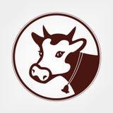 Vecteur de vache Images libres de droits
