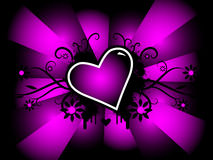 Vecteur de Valentine Images libres de droits