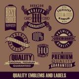 Vecteur de vintage de label Images libres de droits