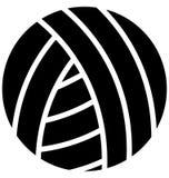 Vecteur de volleyball qui peut être facilement modifié ou édité illustration libre de droits