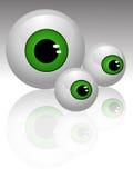 Vecteur de yeux Photos stock
