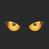 vecteur de yeux mauvais Photos libres de droits