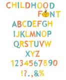 Vecteur des alphabets comme une peinture stylisés Images stock
